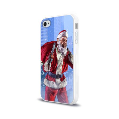 Чехол для Apple iPhone 4/4S силиконовый глянцевый  Фото 03, GTA