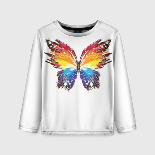 Детский лонгслив 3D Butterfly