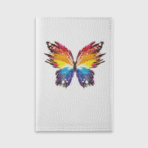 Обложка для паспорта матовая кожа  Фото 01, Butterfly