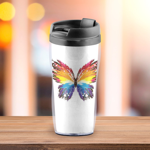 Термокружка-непроливайка  Фото 03, Butterfly