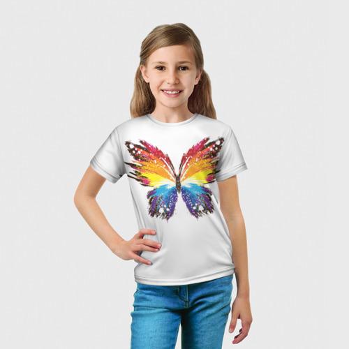 Детская футболка 3D  Фото 03, Butterfly