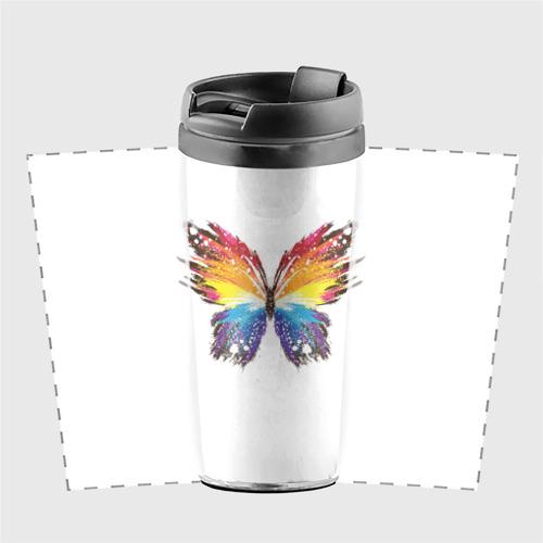 Термокружка-непроливайка  Фото 02, Butterfly