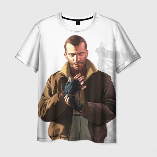 Мужская футболка 3D  Фото 01, Нико