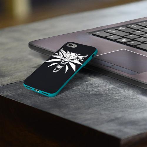 Чехол для Apple iPhone 8 силиконовый глянцевый Witcher Фото 01