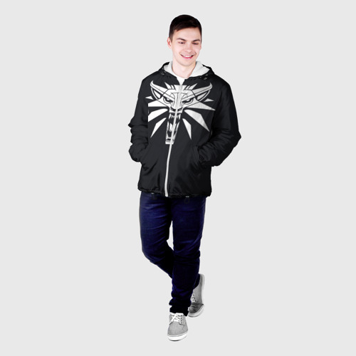 Мужская куртка 3D  Фото 03, Witcher