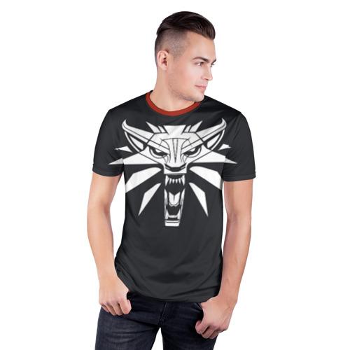 Мужская футболка 3D спортивная  Фото 03, Witcher