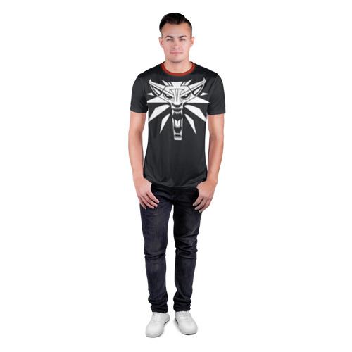 Мужская футболка 3D спортивная  Фото 04, Witcher