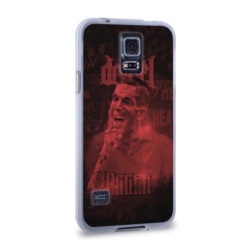 Чехол для Samsung Galaxy S5 силиконовый  Фото 02, Daniel Agger. Liverpool