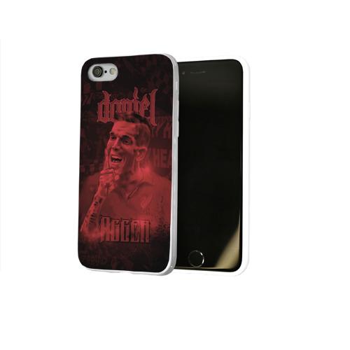 Чехол для Apple iPhone 8 силиконовый глянцевый  Фото 02, Daniel Agger. Liverpool