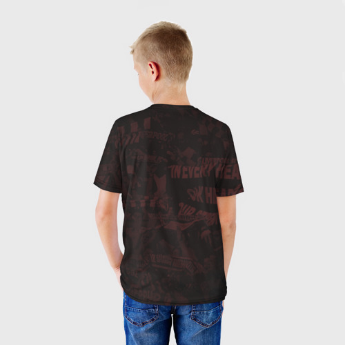 Детская футболка 3D  Фото 02, Daniel Agger. Liverpool