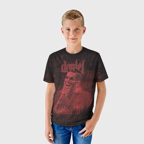 Детская футболка 3D  Фото 01, Daniel Agger. Liverpool