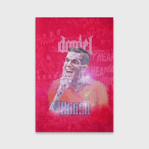 Обложка для паспорта матовая кожа  Фото 01, Daniel Agger. Liverpool