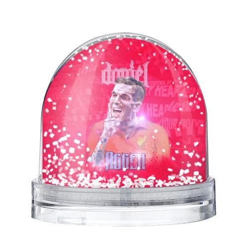 Водяной шар со снегом Daniel Agger. Liverpool