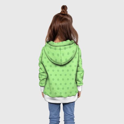 Детская толстовка 3D  Фото 02, винтажный зайка