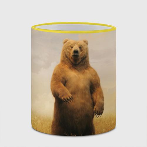 Кружка с полной запечаткой  Фото 03, Медведь в поле