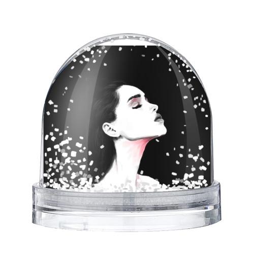 Водяной шар со снегом model