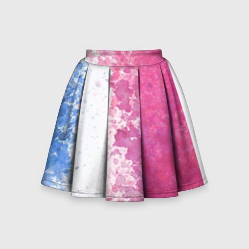 Детская юбка-солнце 3D Краска