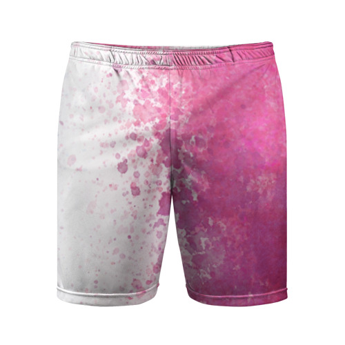 Мужские шорты 3D спортивные Краска