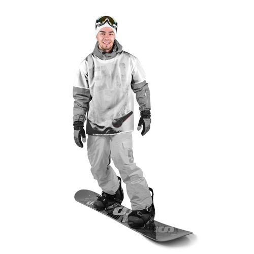 Накидка на куртку 3D  Фото 03, Eminem