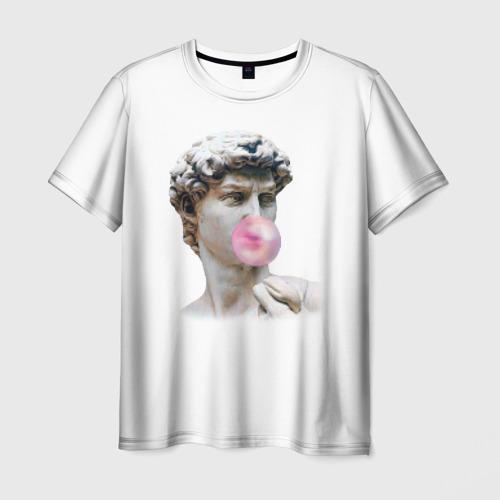 Мужская футболка 3D  Фото 03, Статуя любви