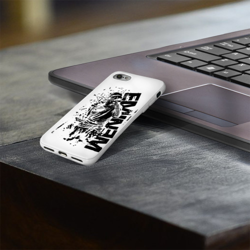 Чехол для Apple iPhone 8 силиконовый глянцевый  Фото 03, Eminem