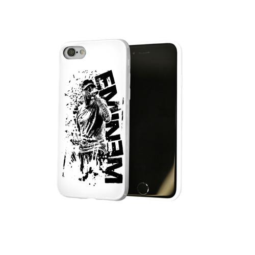 Чехол для Apple iPhone 8 силиконовый глянцевый  Фото 02, Eminem