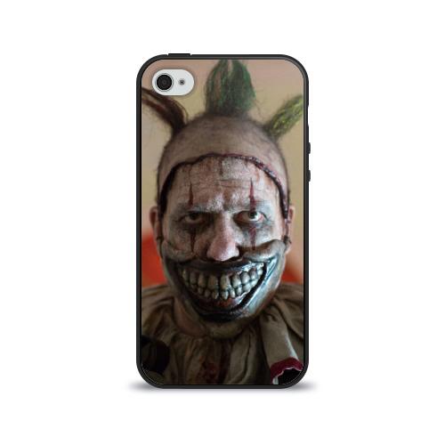 Чехол для Apple iPhone 4/4S силиконовый глянцевый American horror story от Всемайки