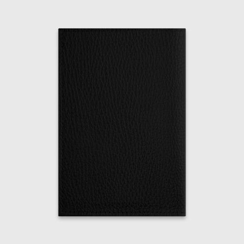 Обложка для паспорта матовая кожа Кот Фото 01