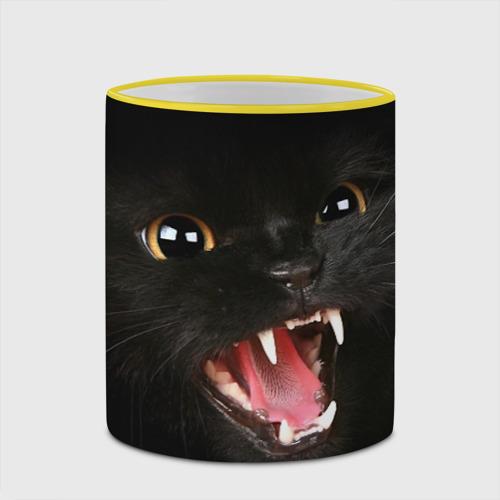Кружка с полной запечаткой  Фото 03, Черный кот