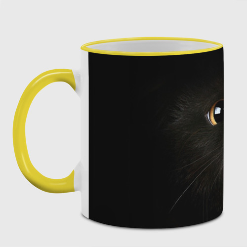 Кружка с полной запечаткой  Фото 04, Черный кот