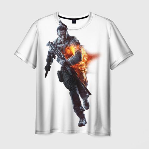 Мужская футболка 3D  Фото 03, Батла