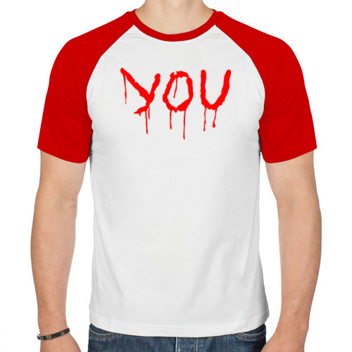 Мужская футболка реглан  Фото 01, YOU