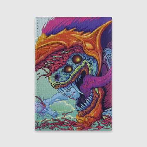 Обложка для паспорта матовая кожа  Фото 02, Hyper beast