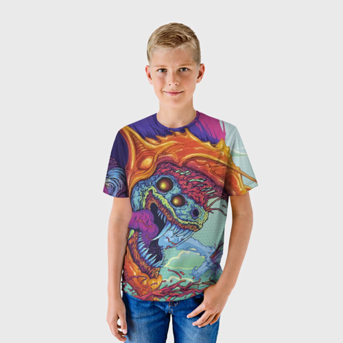 Детская футболка 3D Hyper beast