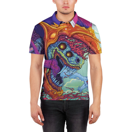 Мужская рубашка поло 3D  Фото 03, Hyper beast