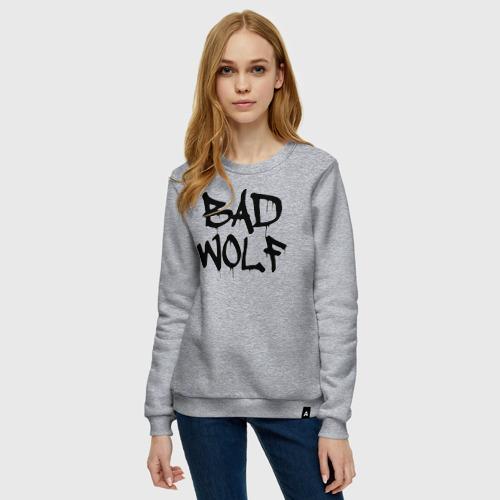 Женский свитшот хлопок Bad Wolf Фото 01