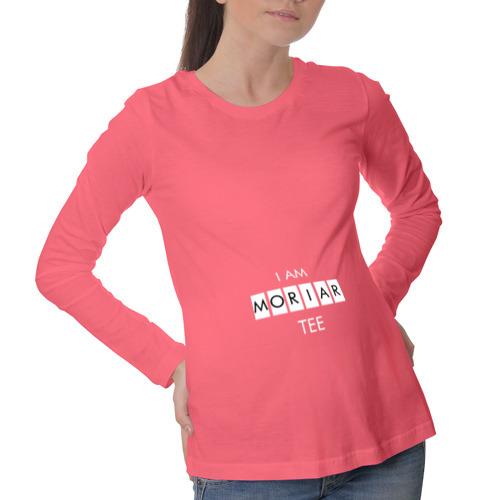 Лонгслив для беременных хлопок MORIAR-TEE
