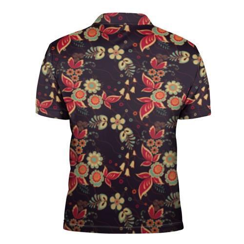 Мужская рубашка поло 3D  Фото 02, Хохлома