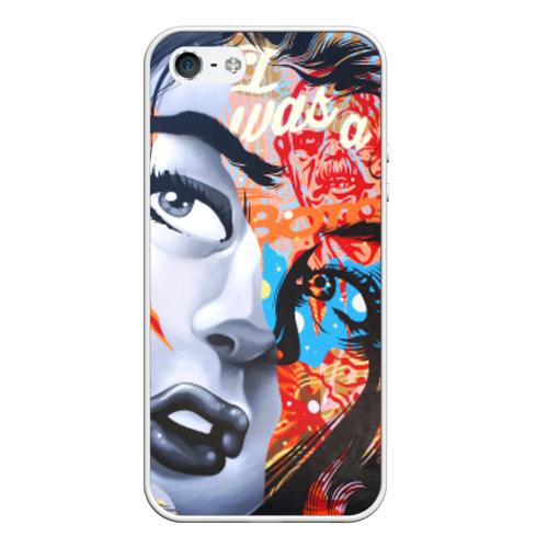 Чехол силиконовый для Телефон Apple iPhone 5/5S графити от Всемайки
