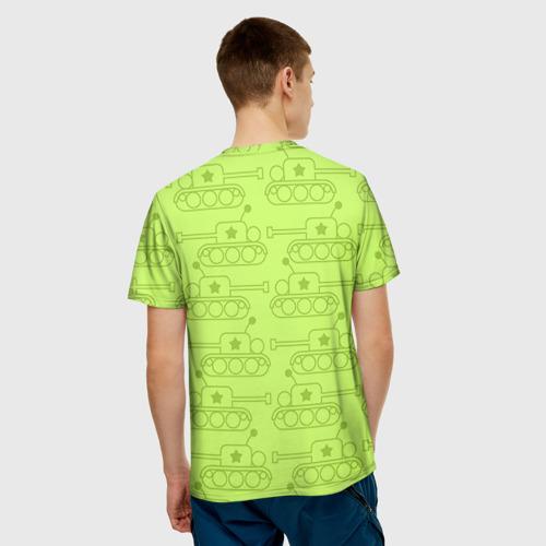 Мужская футболка 3D  Фото 02, Танкист, с 23 Февраля!