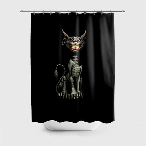 Штора для ванной Чеширский кот 3 от Всемайки