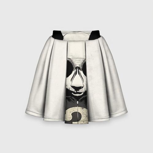 Детская юбка-солнце 3D Панда