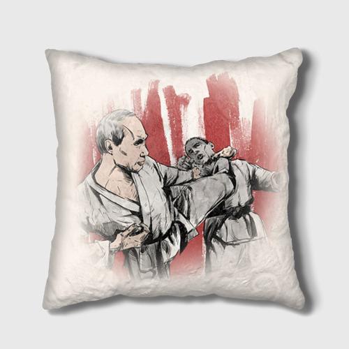 Подушка 3D  Фото 01, Путин vs. Обама