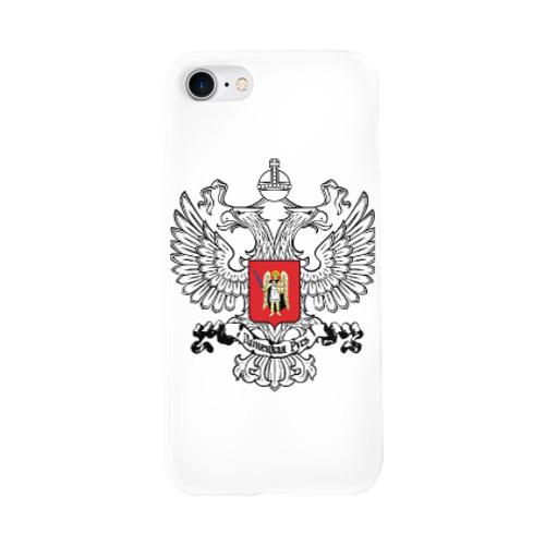Чехол для Apple iPhone 8 силиконовый глянцевый ДНР Фото 01