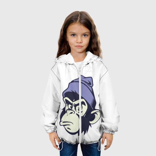 Детская куртка 3D  Фото 04, Обезьяна в шапке