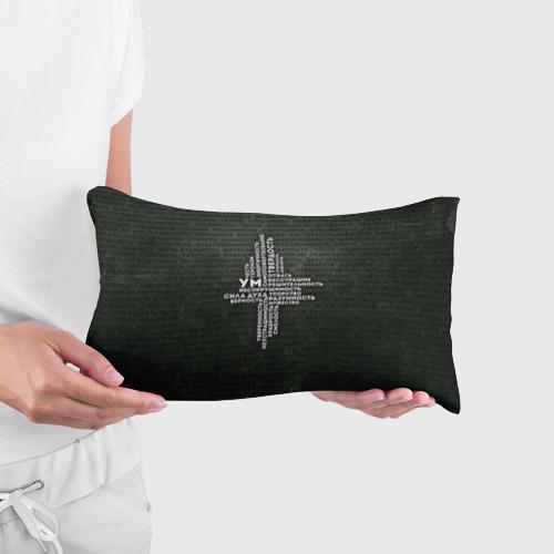 Подушка 3D антистресс Облако тегов 1 Фото 01