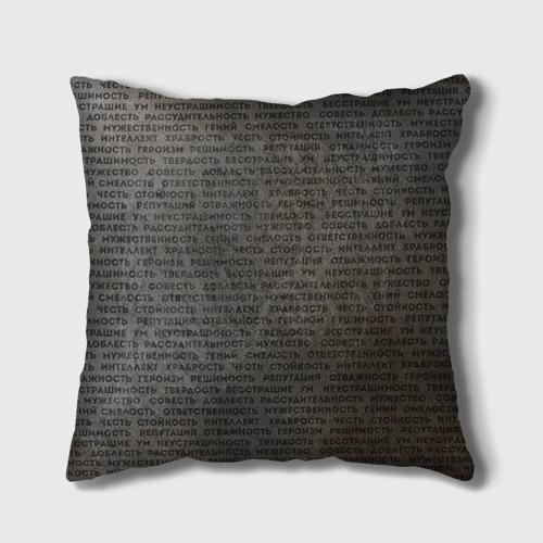Подушка 3D Облако тегов 2 Фото 01