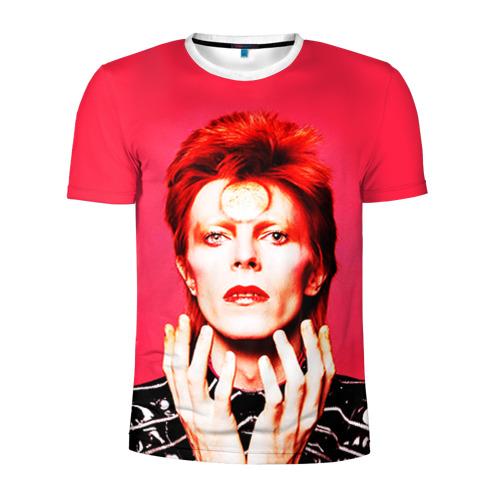 Мужская футболка 3D спортивная  Фото 01, Ziggy Stardust
