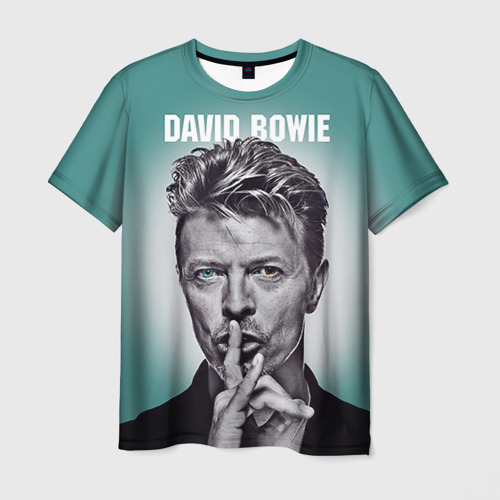 Мужская футболка 3D Боуи