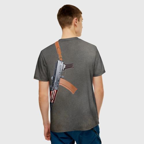 Мужская футболка 3D  Фото 02, АКСУ 3